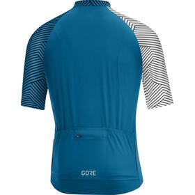GORE WEAR C5 Optiline Jersey Men sphere blue/white